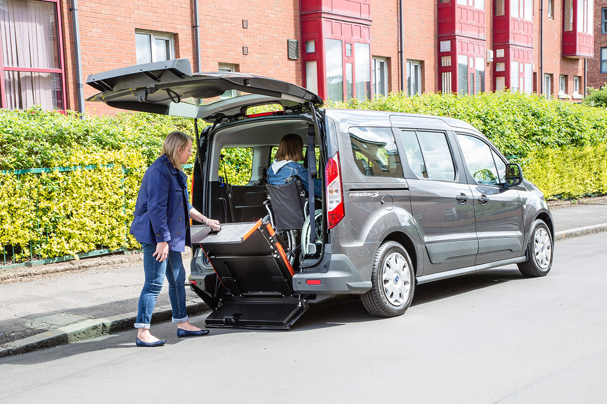 Ford Connect Freedom Wheelchair Accessible Vehicle