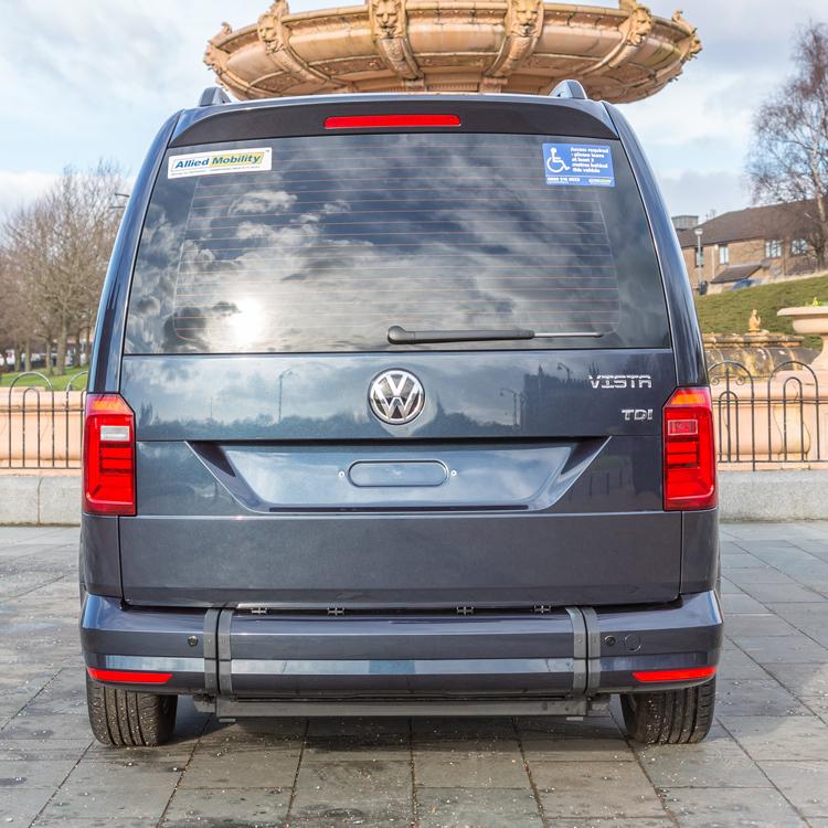 Volkswagen caddy maxi vista wheelchair accessible vehicle for Completely wheelchair accessible luxury house for sale