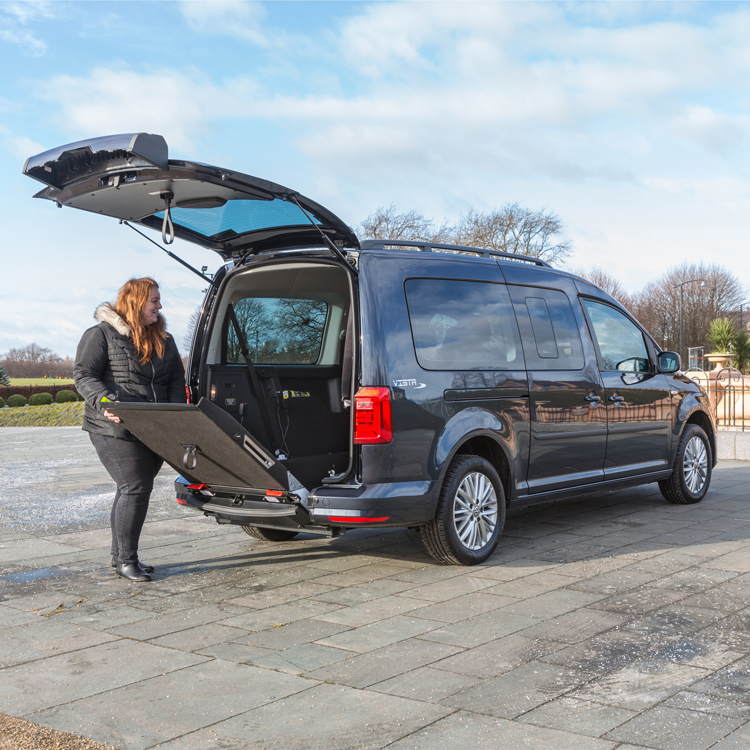 Vw Motability >> Volkswagen Caddy Maxi Vista™ Wheelchair Accessible Vehicle, VW - Allied Mobility